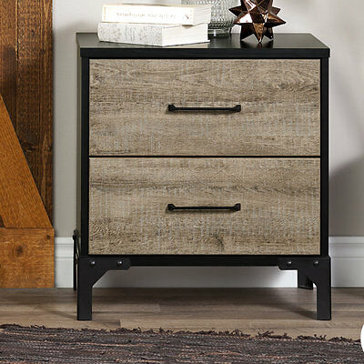 Valet 2 Drawer Nightstand South Shore Free Shipping High Quality