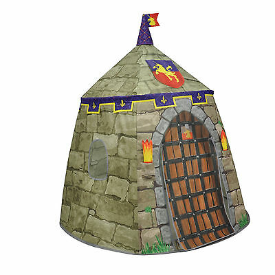 Medieval Castle Play Tent Checkey Limited Free Shipping High Quality