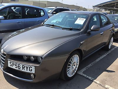 56 Reg Alfa Romeo 159 1.9 Jtdm Turismo Climate,alloys,cd,cat D Car Not Bad