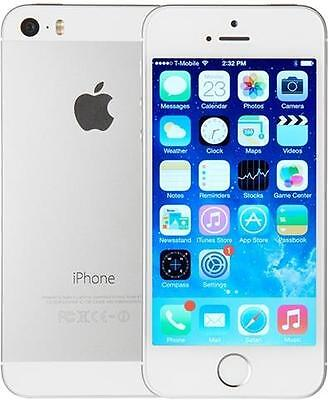 iPhone 5s 16GB - Silver - Bell Mobility (LOCKED)