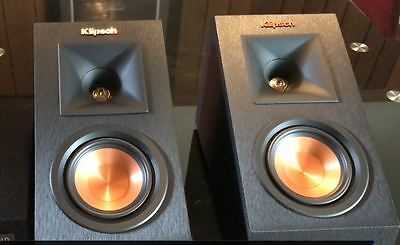 Pair Speakers Klipsch Rp-140Sa Dolby Atmos Black Brand New ! Warranty