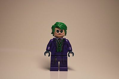 LEGO Genuine, Authentic, DC Superheroes Minifigure Dark Knight Joker 76023 Rare