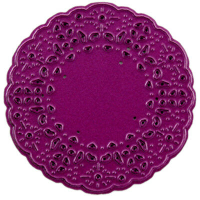 """Cheery Lynn Designs Doily Die French Pastry Tiny, 2""""X2"""" CLDL234"""
