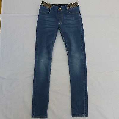 Girls H&M skinny jeans age 7-8 years
