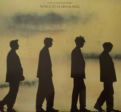 Echo and The Bunnymen - Songs To Learn & Sing (LP FULLY HAND SIGNED)