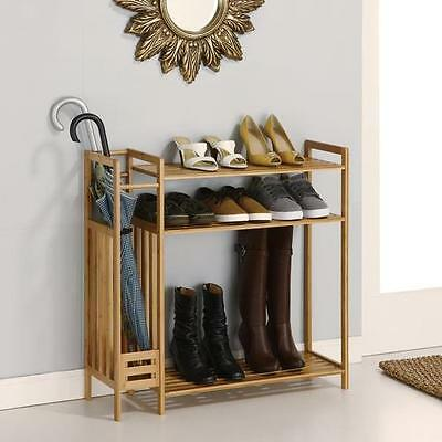 Utility Entryway 3-Tier Shoe Rack OIA Free Shipping High Quality
