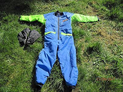 Orion 100 Thermal Undersuit with Thinsulate Boots.