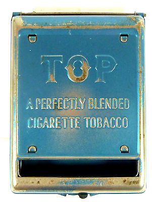 Vintage Top Cigarette Tobacco Tin Roller