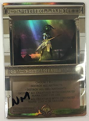 MTG Magic - [1x] AUSTERE COMMAND Amonkhet Invocation - FOIL NM