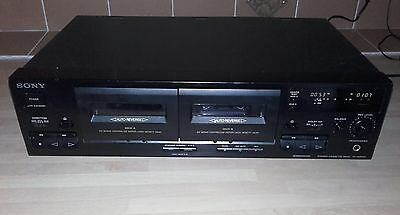 SONY TC-WR445 Stereo Twin/double Cassette tape Deck Separate, SONY separates