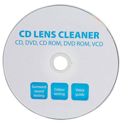 CD DVD Lens Cleaner Disc Cleaning