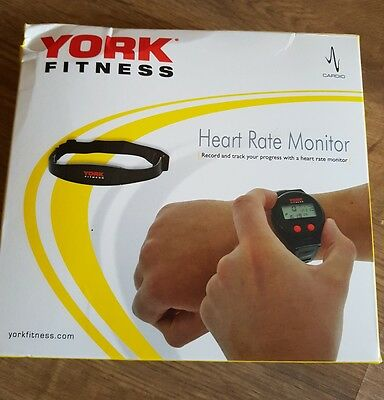 York fitness heart rate monitor