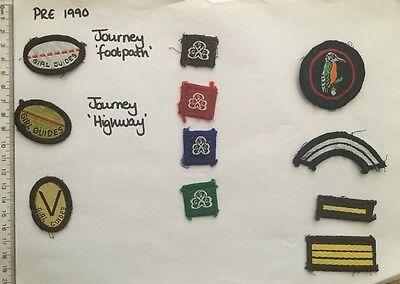 Vintage Girl Guide Badges