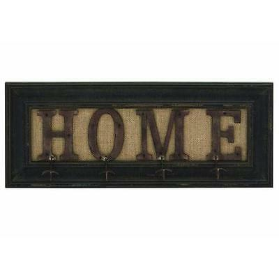 "Farmhouse ""Home"" Framed Wall Hook ABCHomeCollection Free Shipping High Quality"