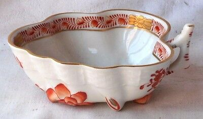 Herend Hand Painted Pickle Dish