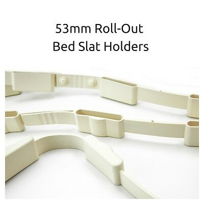53mm Rubber Roll-Out Bed Slat Holders/Strips Ideal For Caravans-Motorhomes-Boats