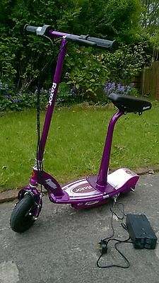 electric scooter battery power razor e100s