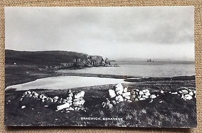 Braewick - Eshaness  real photo