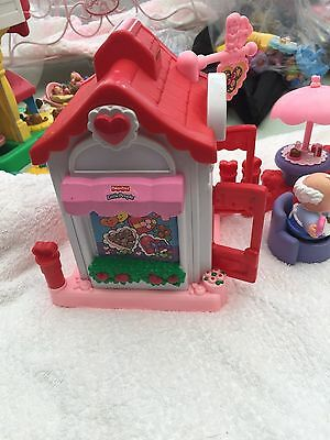 Fisher Price Little People Valentine shop cafe set
