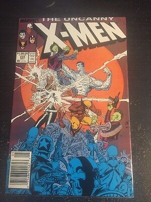 Uncanny X-men#229 Incredible Condition 8.5(1988) 1st Reavers Appearence