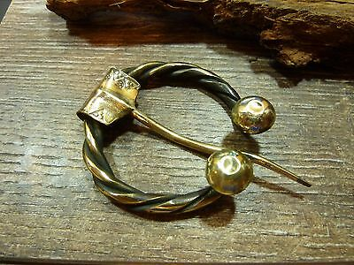 Antique Hand Crafted Bronze Viking Fibula Broosh 36,83 gr.