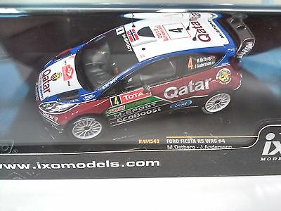 Ford Fiesta Rs Wrc #4 M.ostberg- Rmc13- 1/43 Ixo Voiture Diecast - Ram540