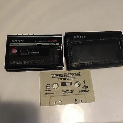 Sony Walkman WM-F10II Cassette Player / FM/AM Radio