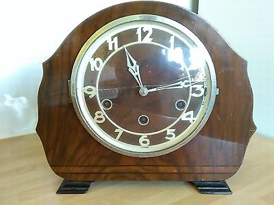 Vintage Mantel Clock with Westminster Chimes
