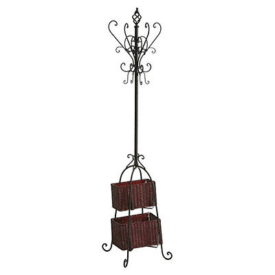 Magestic Coat Rack with Storage Rosalind Wheeler Free Shipping High Quality