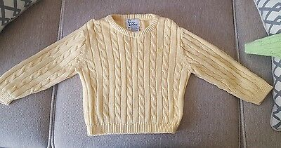 Lilly Pulitzer ( Lily ) 3T Yellow Unisex Sweater