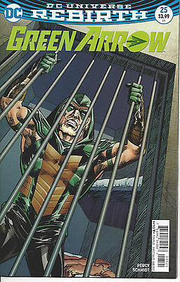 Green Arrow #25 Variant Rebirth First Print