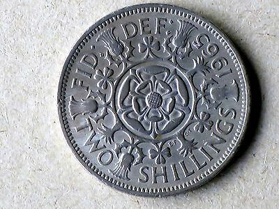 GB 1965 TWO SHILLINGS Coin