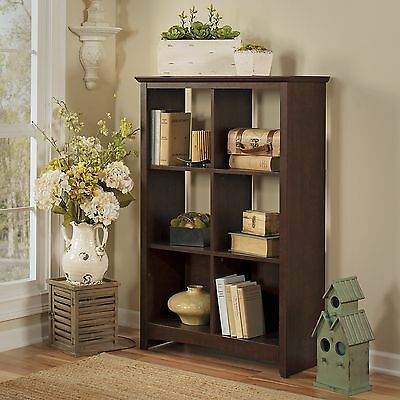 """Buena Vista 48"""" 6 Cube Unit Bookcase Darby Home Co Free Shipping High Quality"""
