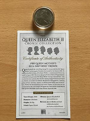 Queen Elizabeth Ii 1980 Queen Mother's 80Th Birthday Crown
