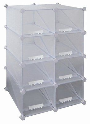 8-Compartment Shoe Rack New Spec Free Shipping High Quality