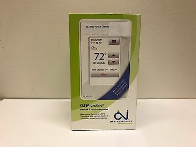 OJ Microline UWG4 Wi-Fi Radiant Floor Heating Wi-Fi Touchscreen Thermostat