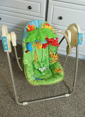 Fisher Price Rainforest Baby Chair Swing