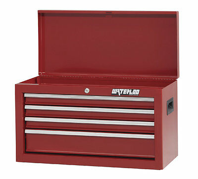 """Shop Series 26""""W 4-Drawer Top Chest Waterloo Industries Free Shipping"""