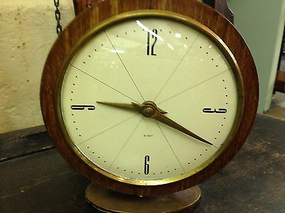 STUNNING SMITHS ANTIQUE ART DECO STYLE WESTMINSTER CHIME MANTEL CLOCK, 1950's.