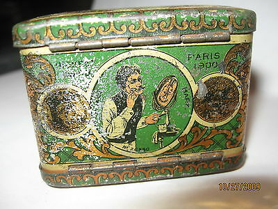 Vintage Star Advertising razor blade Tin 1906