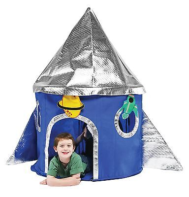 Special Edition Rocket Play Tent Bazoongi Kids Free Shipping High Quality
