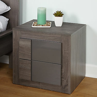 Eden 2 Drawer Nightstand TMS Free Shipping High Quality