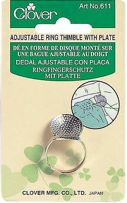 Ring Thimble W/Plate Adjustable 611