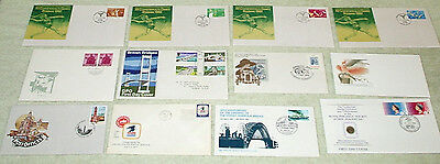 bulk one. unusual cancels or envelopes - first day covers