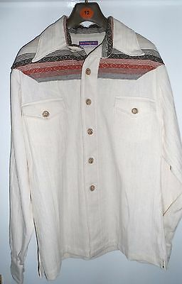Elvis Presley owned and used Lew Magram shirt with Vernon Presley LOA (TBC)