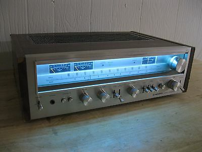 Pioneer SX-780 Stereo Receiver w/ LED Upgraded Dial Lamps -------------> Cool!!!