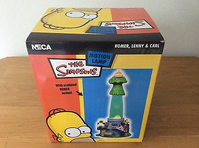 New in box The Simpsons Lava Motion Lamp