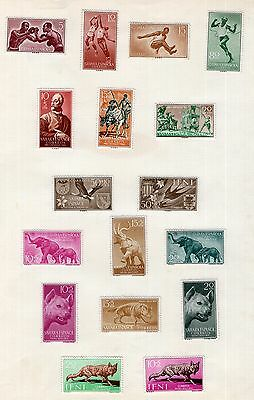 Spain Colonies Sahara mint group of stamps see scans x2