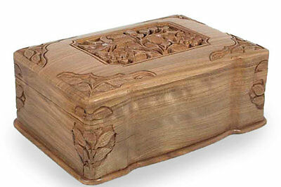 Fair Trade Floral Jewellery Box Novica Free Shipping High Quality