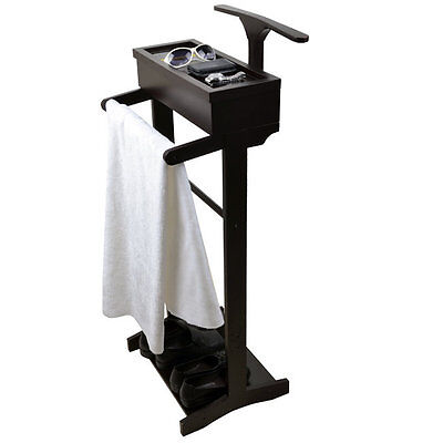 Omniscient Wooden Clothes Valet Stand ViscoLogic Free Shipping High Quality